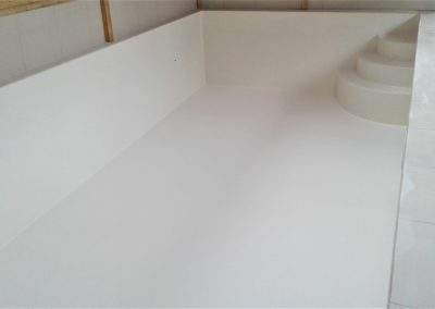 Fibreglass Lining Mosaics - Plain Light Grey